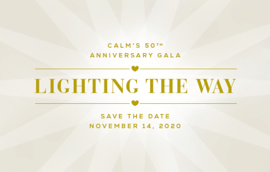 CALM 50th Save the Date